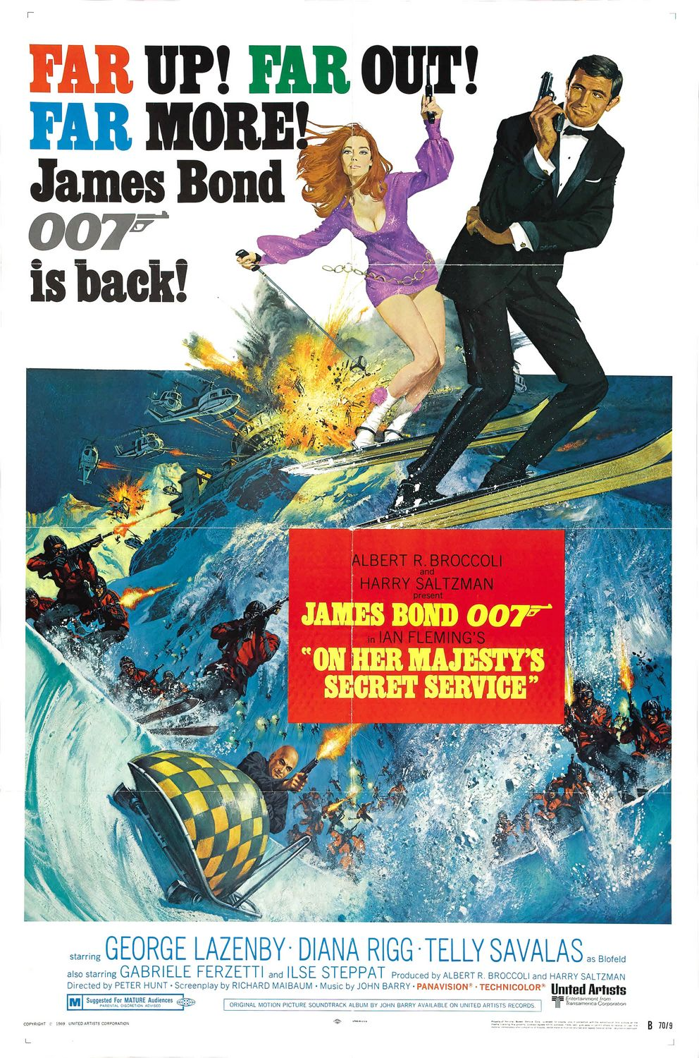 James Bond Archives 2017 For Your Eyes Only Throwback Chase Card #9